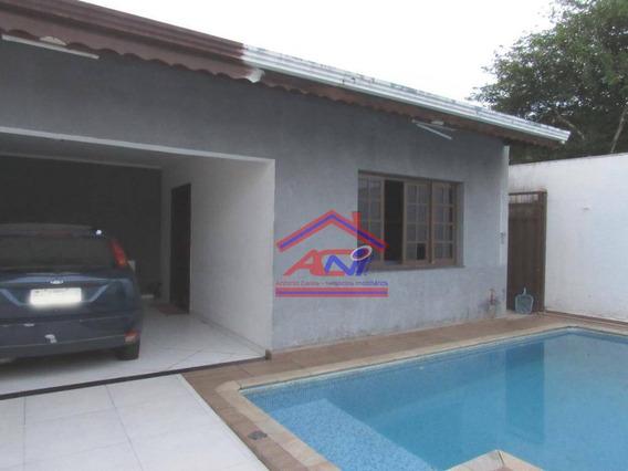 Casa Com 4 Dormitórios À Venda, 200 M² Por R$ 499.000 - Parque Dos Pinheiros - Hortolândia/sp - Ca0093