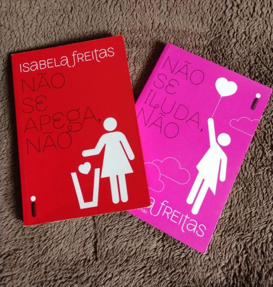 2 Livros Isabela Freitas - Seminovos Conservados