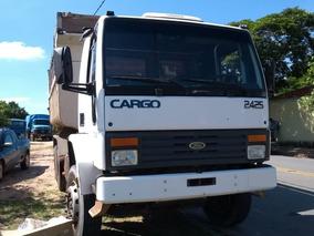Caminhão Ford Cargo 2425 6x4 C/ Basc. 10mts³ Ano 2000