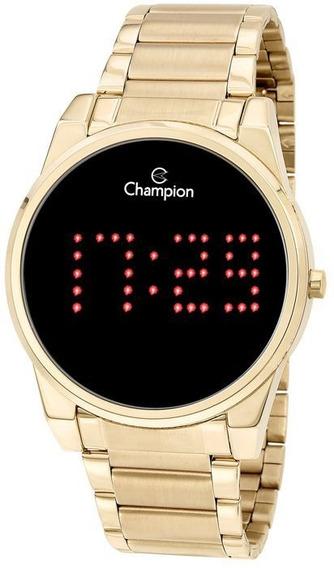 Relógio Feminino Digital Champion Dourado Ch40053v