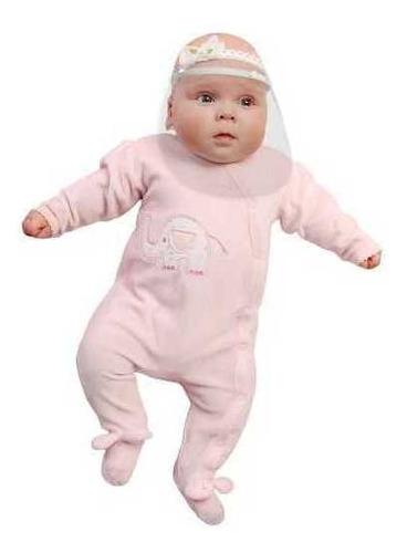 Imagem 1 de 12 de Kit 3 Máscara De Proteção Facial Bebê Recem Nascido - Mbcb01