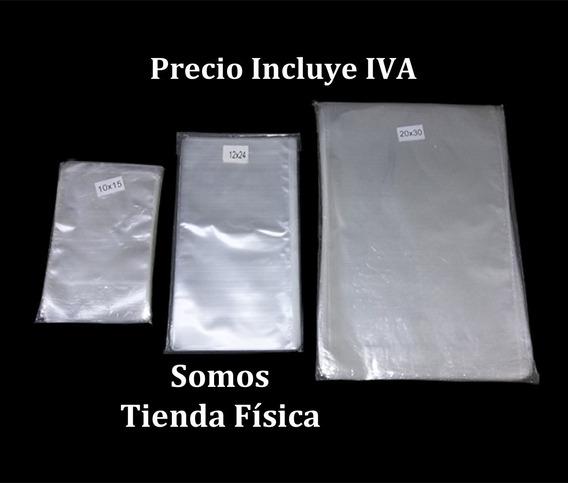 Bolsa Celofan Transparente Lisas 10x18 Cm Bolsas