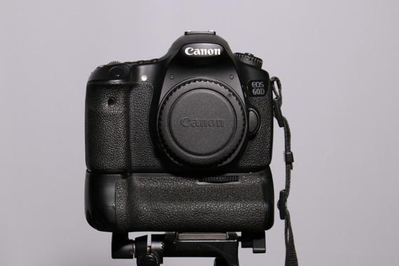 Câmera Canon Eos 60d + Battery Grip Bg-e9 Original