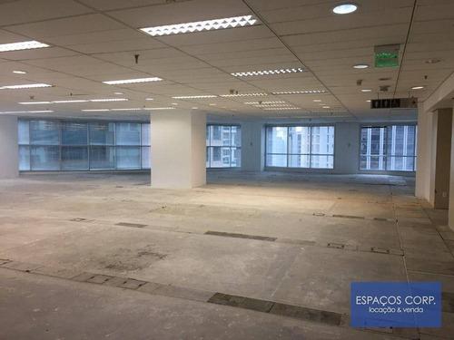 Laje Corporativa Para Alugar, 1288m² - Brooklin - São Paulo/sp - Lj0324