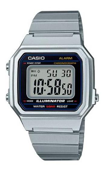 Relógio Casio - Illuminator - Prata - B650wd-1adf