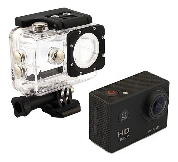 Camera Action Cam Go Sports Pro Full Hd 1080p Wi-fi E60