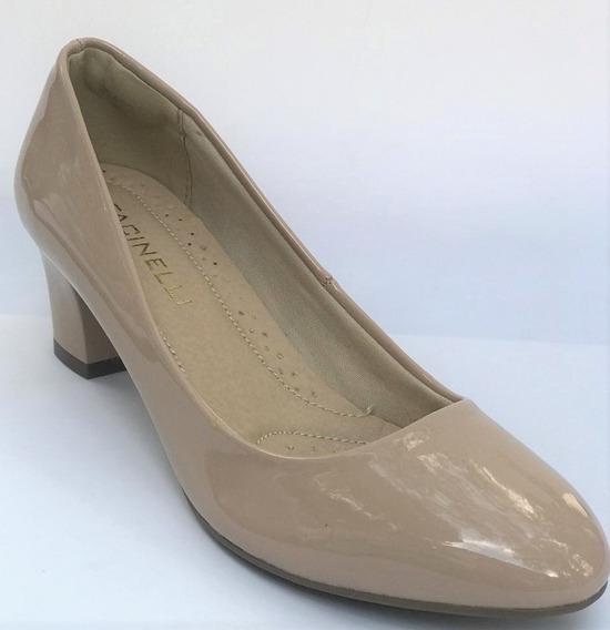 Sapato Feminino Social Salto Baixo Facinelli 62402
