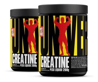 Creatina Universal Original (200g+200g) + Glutamina 300g