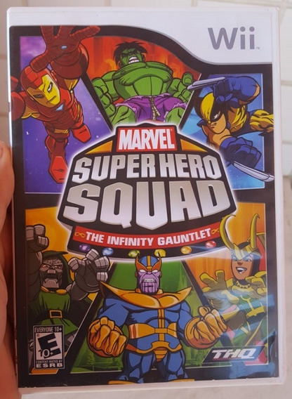 Marvel Super Hero Squad The Infinity Gauntlet - Games no