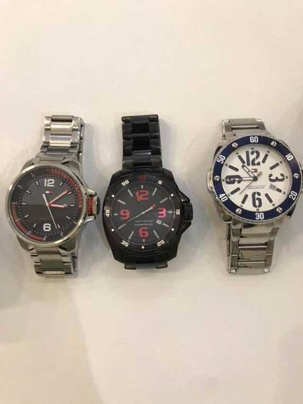 Relógios Todos Originais, Diesel, Tommy E Police