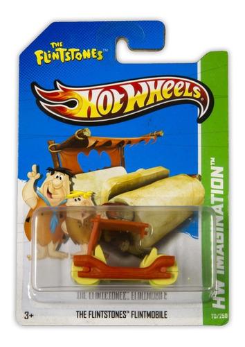 Hot Wheels Hw Imagination Flintstones Flintmobile 2013 X1629