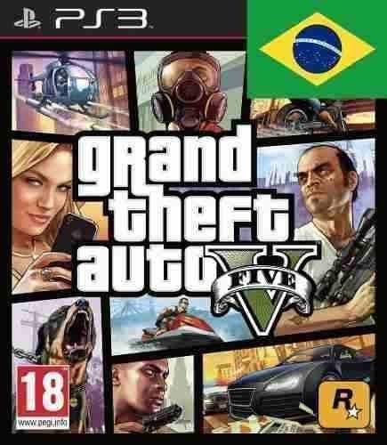 Grand Theft Auto 5 - Gta V - Psn - Ps3 - Português