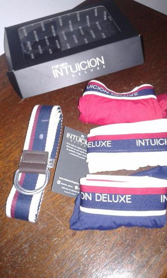 Kit For Men - Cueca Box + Cinto De Lona