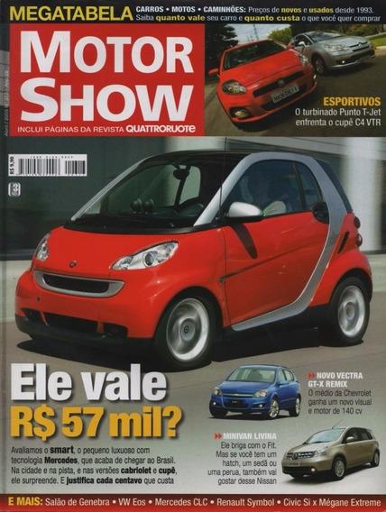 Motor Show Nº313 Smart Punto T-jet Citroen C4 Vtr Livina R8
