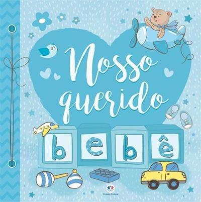 Nosso Querido Bebe - Azul - Album De Recordações Mesversário