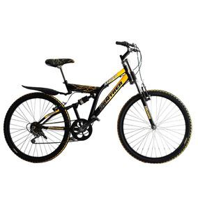 Bicicleta Montaña Africa R26 Doble Suspensión 18vel Hot Sale