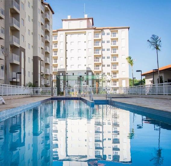 Apartamento Com 2 Dormitórios À Venda, 50 M² Por R$ 285.000 - Condomínio Brisa Club House - Valinhos/sp - Ap0502
