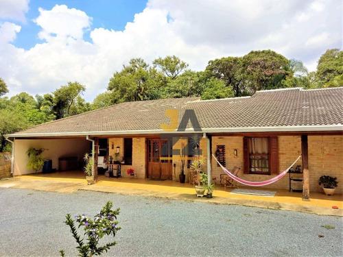 Linda Chácara Com 3 Dormitórios À Venda, 2200 M² Por R$ 1.100.000,00 - Condomínio Chácaras Flórida - Itu/sp - Ch0617
