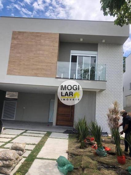 Casa Para Venda Condomínio Veredas Em Mogi Das Cruzes, 3 Dormitórios 1 Suíte - So0069