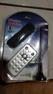 Sintonizador Digital Tv Usb Con Control Remoto Y Antena