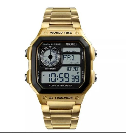 Relógio Masculino Esportivo Skimei 1335 Original Barato