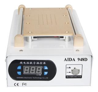 Maquina Separadora Lcd Touch Sucção Vácuo Aida 948d 220v