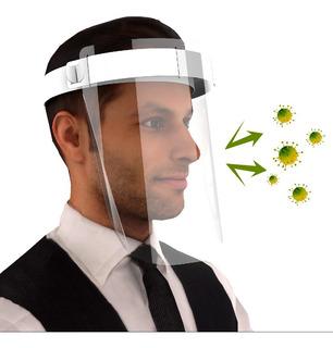 Máscara Facial Protetora Respingos Anti-cuspir Face Shield