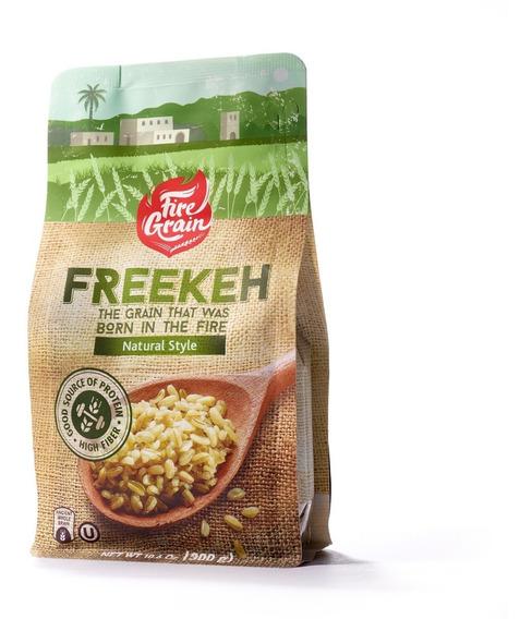 Fire Grain Freekeh, Supergrano Ancestral, Natural, 300 Gr