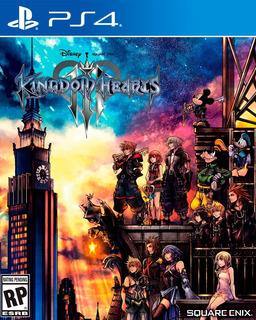 Kingdom Hearts 3 Ps4 Digital Gcp