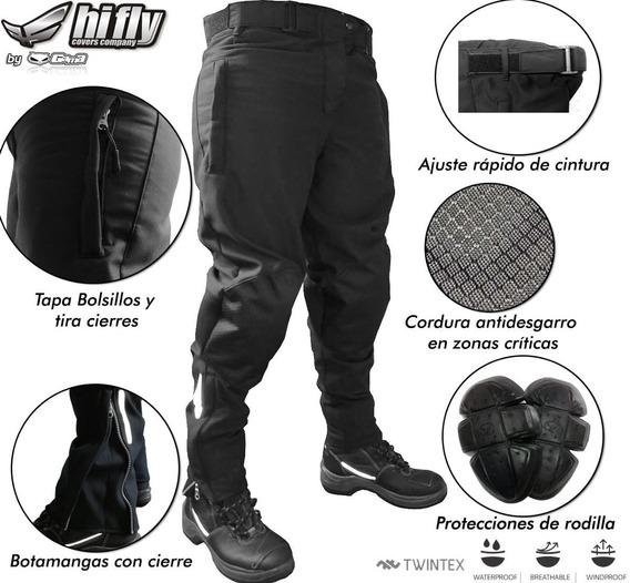 Pantalon Touring Softshell Con Protecciones