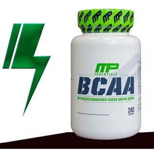 Bcaa - Mp Musclepharm 240 Cápsulas