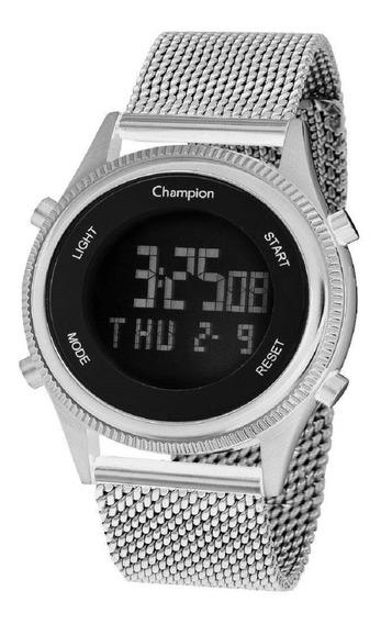 Relógio Champion Digital Lcd Modelo Pequeno Ch48082t