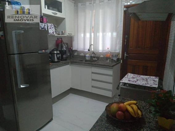 Sobrado Com 2 Dormitórios À Venda Por R$ 230.000 - Vila Nova Aparecida - Mogi Das Cruzes/sp - So0385