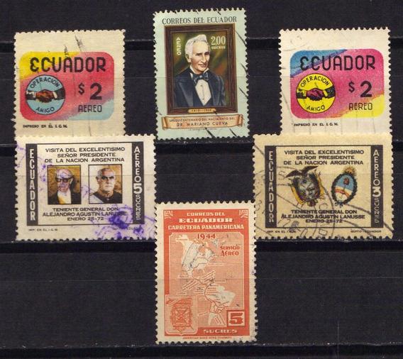 Numismza Ecuador 5 Dif Tematicas ( C 9) Oferta