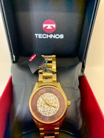 Relógio Technos Dourado 5 Atm / Original*****