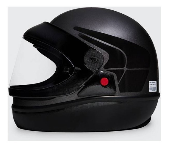 Capacete De Moto San Marino Induma Black