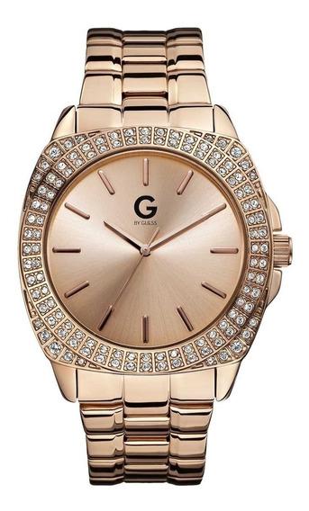 Reloj G By Guess Rock Out G11906g1 Dorado Caballero Envio Gr
