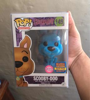 Funko Pop Scooby-doo Flocked San Diego 2017 Limitado 2500 Pz