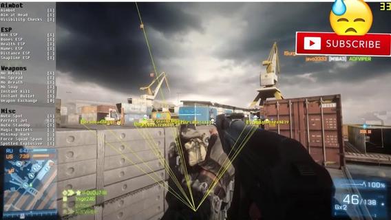 Hack Cheat Bf3 Battlefield 3