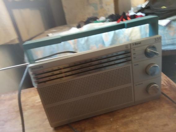 Radio Philips 3 Band 331 Funcionando