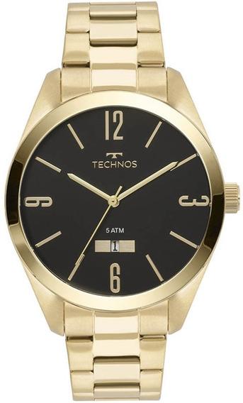 Relógio Technos Masculino Classic Steel 2115mnw/4p