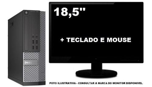 Imagem 1 de 5 de Computador Dell Optiplex 9010 Core I5 4gb 500gb Mini Sff