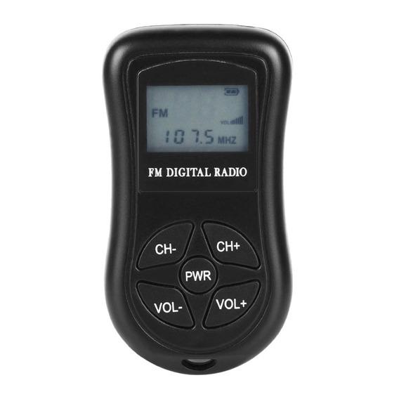Kdka-600 Mini Rdio Fm Estreo Porttil Dsp Receptor Digital