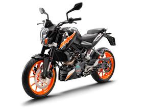 Ktm Duke 200 Blanca Gs Motorcycle