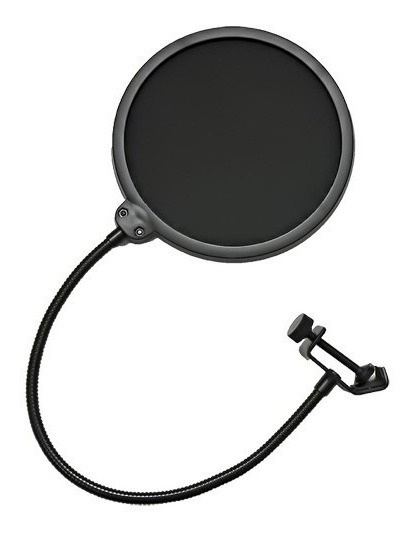 10x Pop Filter Para Microfone Filtro Estúdio
