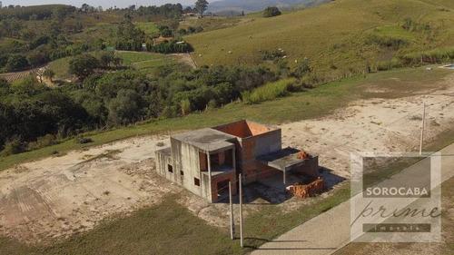 Imagem 1 de 9 de Chácara Com 2 Dormitórios À Venda, 900 M² Por R$ 400.000,00 - Caputera - Sorocaba/sp - Ch0011