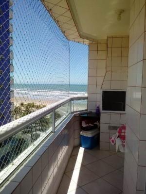 Apartamento No Balneário Maracanã - Itanhaém 7391 | Sanm