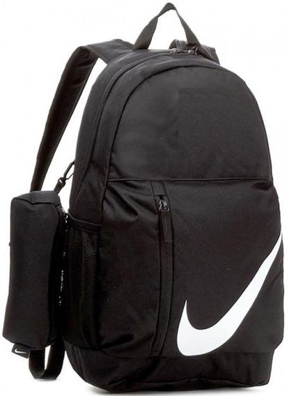 Mochila Nike Elemental Negra Importada Original Ba5405010