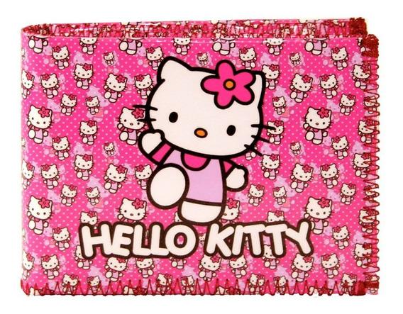 Billetera Mujer Hello Kitty Tarjetero