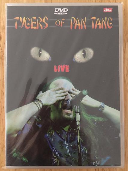 Dvd Tygers Of Pan Tang Live (2003) - Raridade Importado!!!